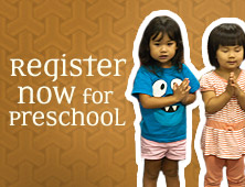 Register Now for Preschool