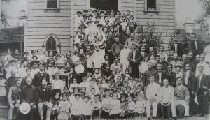 Congregation at the Fort Street Chinese Church